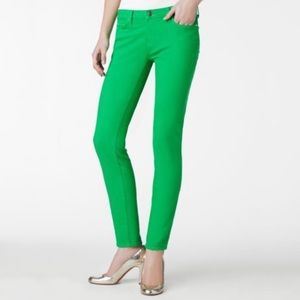 KATE SPADE PERRY STREET Play Hooky Lime Jeans
